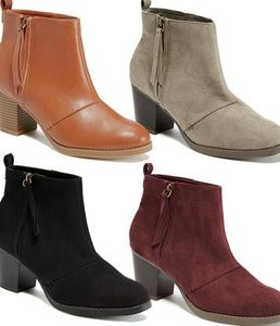 Old Navy | Zip Up Booties similar to a $570 boot!